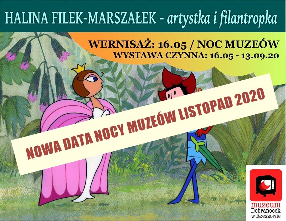 Halina Filek-Marszałek artystka i filantropka